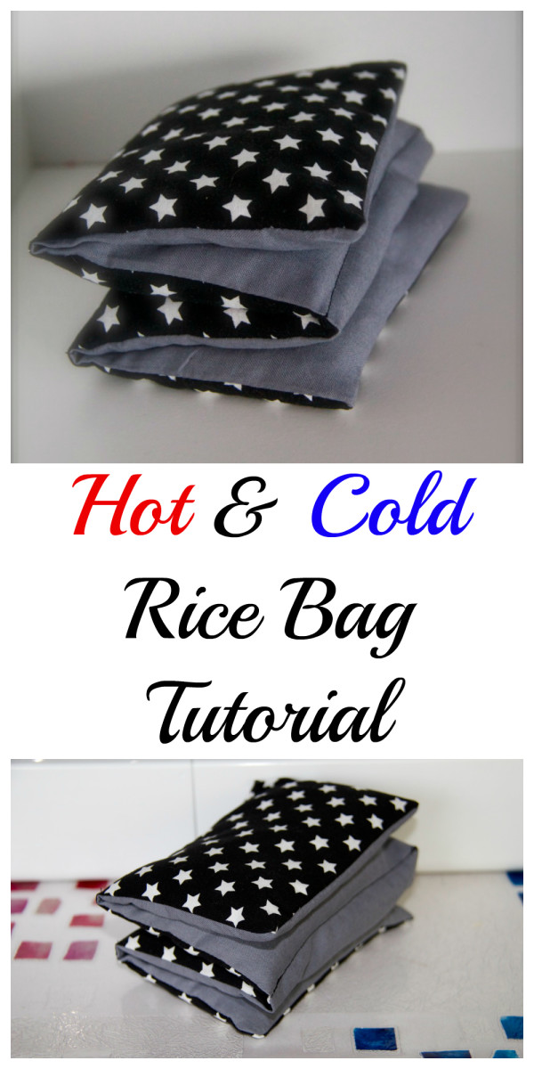 Hot and cold Rice Bag Tutorial