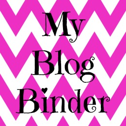 My Blog Binder