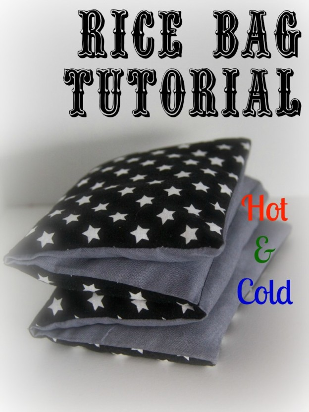 Hot & Cold Rice Bag Tutorial