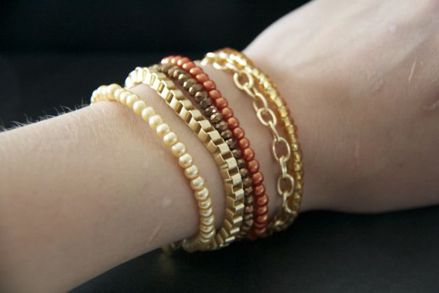 Golden Bliss Bracelet Tutorial
