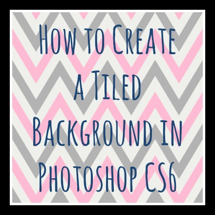 How To Create A Tiled Background In Photoshop CS Creative Pink - Create tiled image