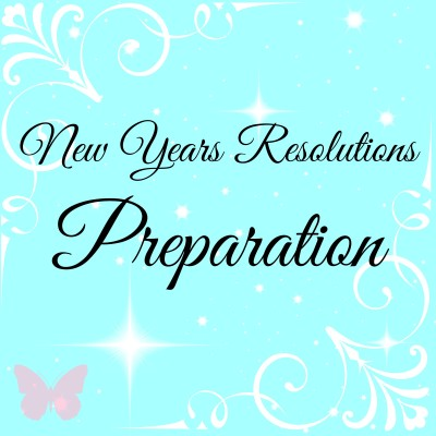 New Years Resolutions Preparations