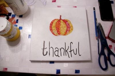 thankful canvas - 4