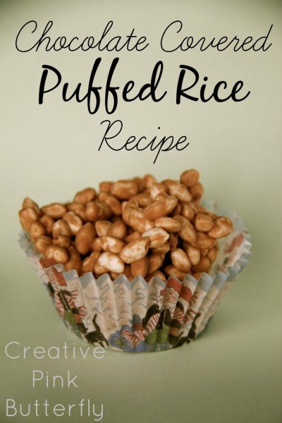Chocolate Covered Puffed Rice Recipe