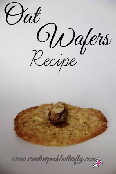 Oatmeal Wafers Recipe