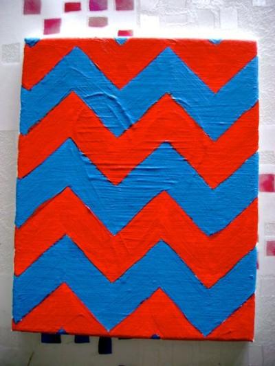 Chevron Canvas Art - 06