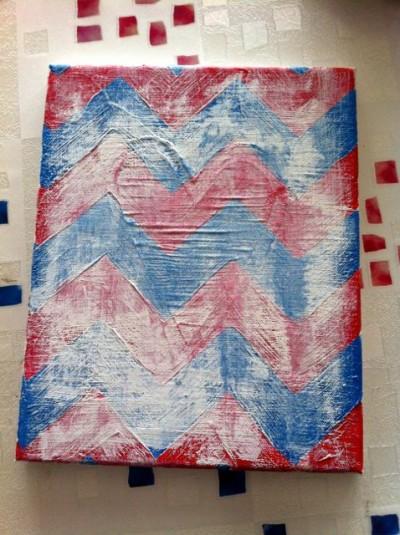 Chevron Canvas Art - 08
