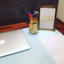 DIY Desk Pad Tutorial