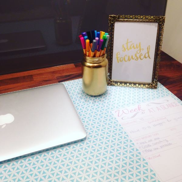 DIY Desk Pad Tutorial