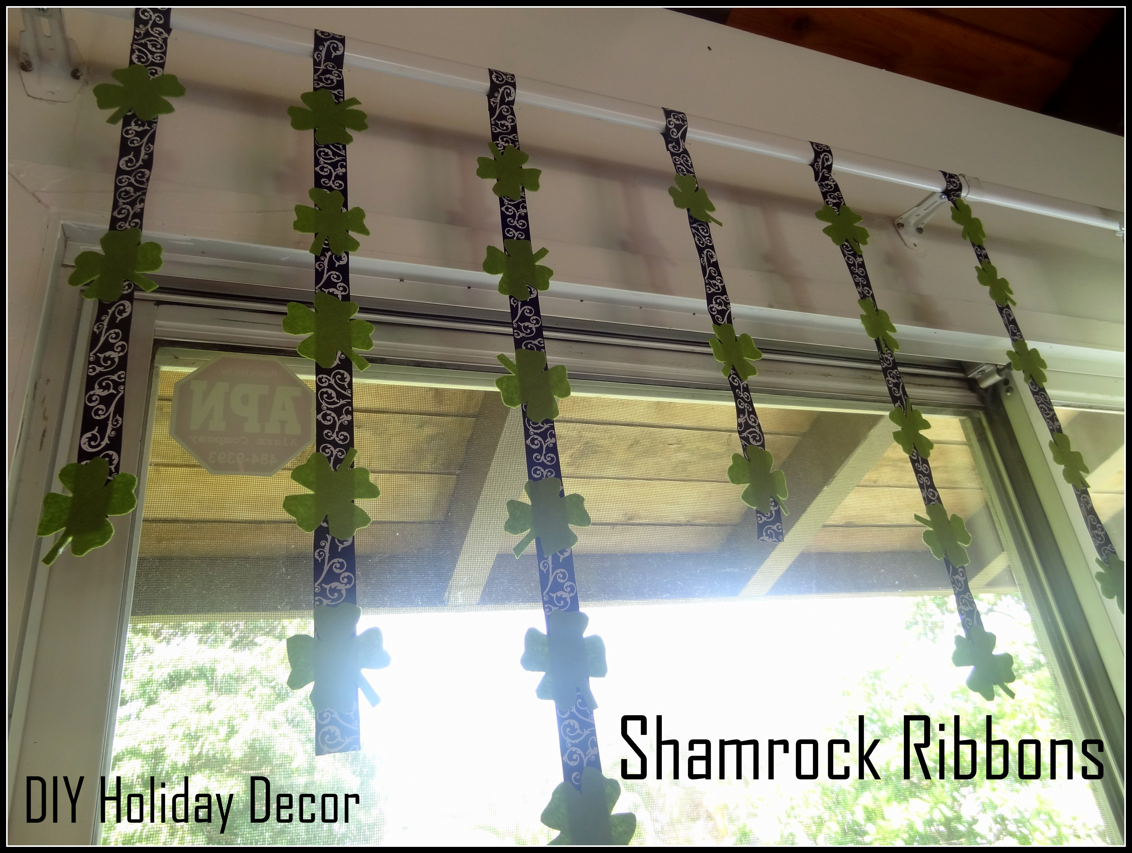 Shamrock Ribbons – Bring HOME the Luck of the Irish