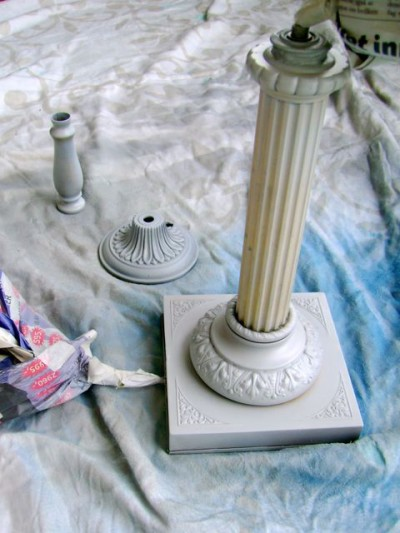 Lamp Base Srap Paint Primer