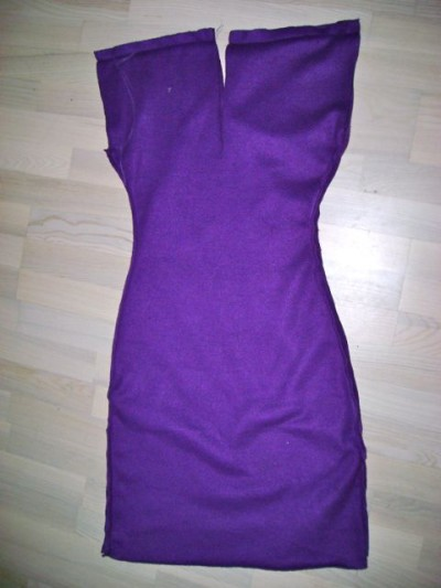 Purple Fleece Dress - 5