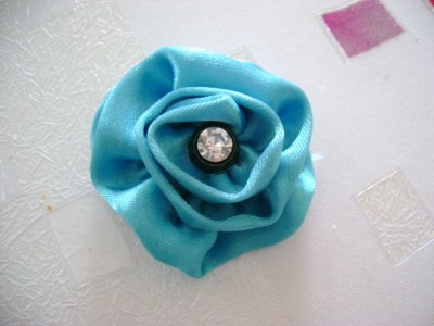 Ribbon Flower Tutorial - 7