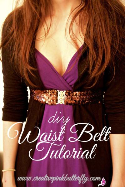 DIY Waist Belt Tutorial