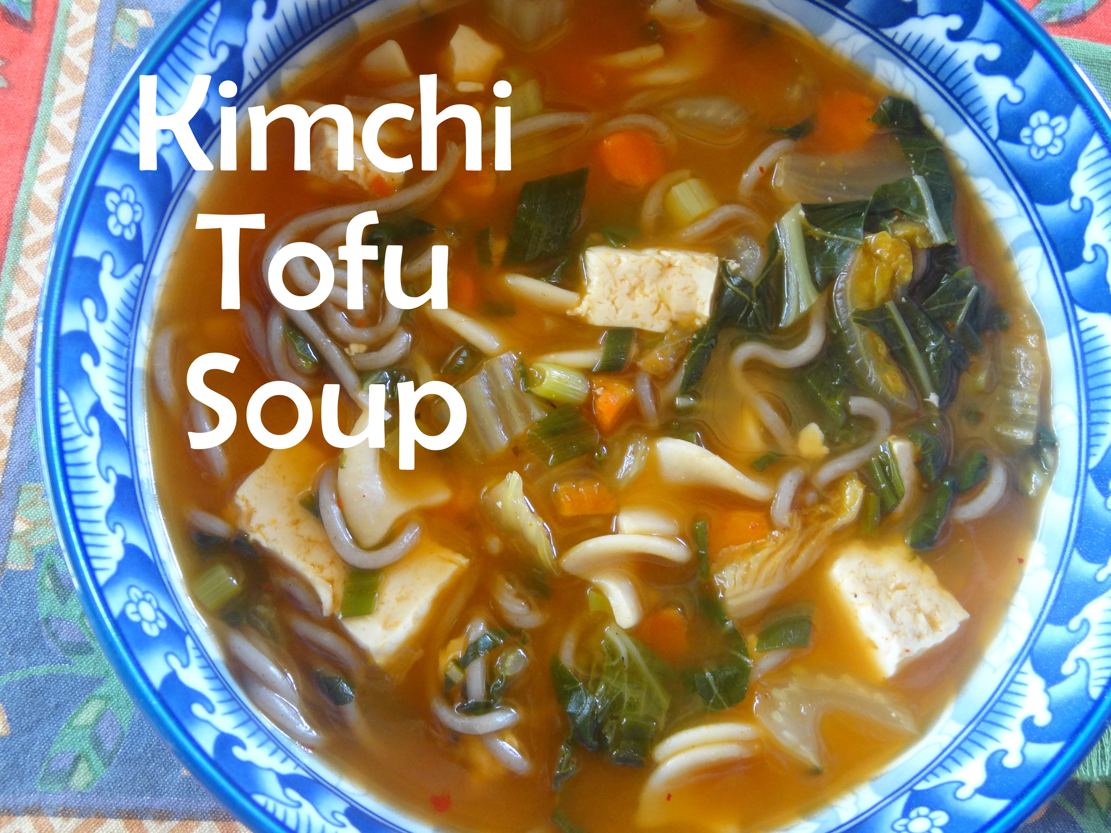 A Taste of Korea: Kimchi Tofu Soup