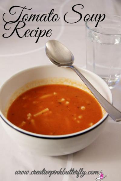 Delicious Tomato Soup Recipe