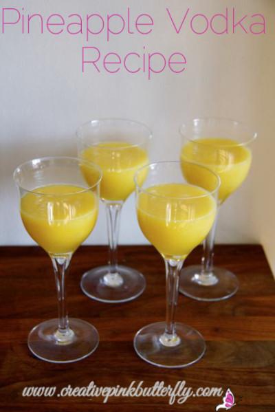 Pineapple Vodka Recipe