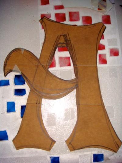 Paper Mache Letters - 03