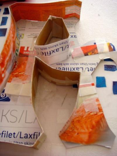 Paper Mache Letters - 06