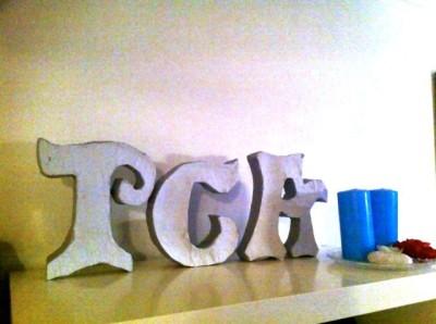 Paper Mache Letters Tutorial