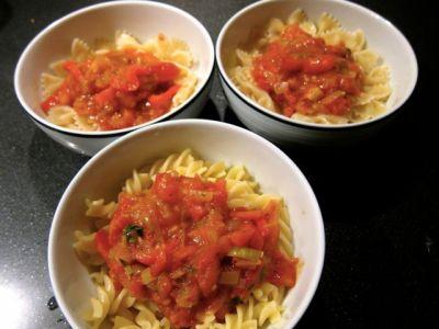 Pasta and Sauce Recipe - 06