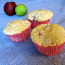 Delicious Peach and Lime Muffins