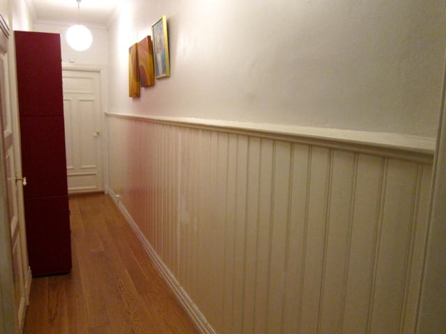 How To Paint Half Wall Paneling