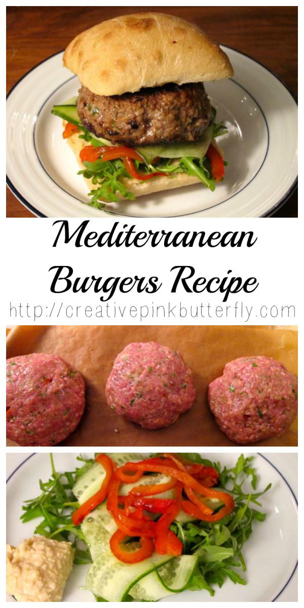 Mediterranean Burgers Recipe