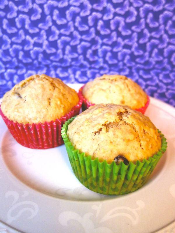 Oats and Raisin Muffins Recipe