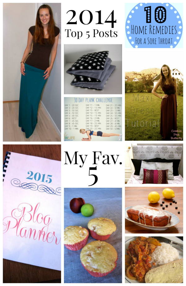 2014 Top 5 posts & My Favorite 5