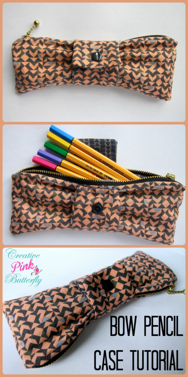 Bow Pencil Case Tutorial
