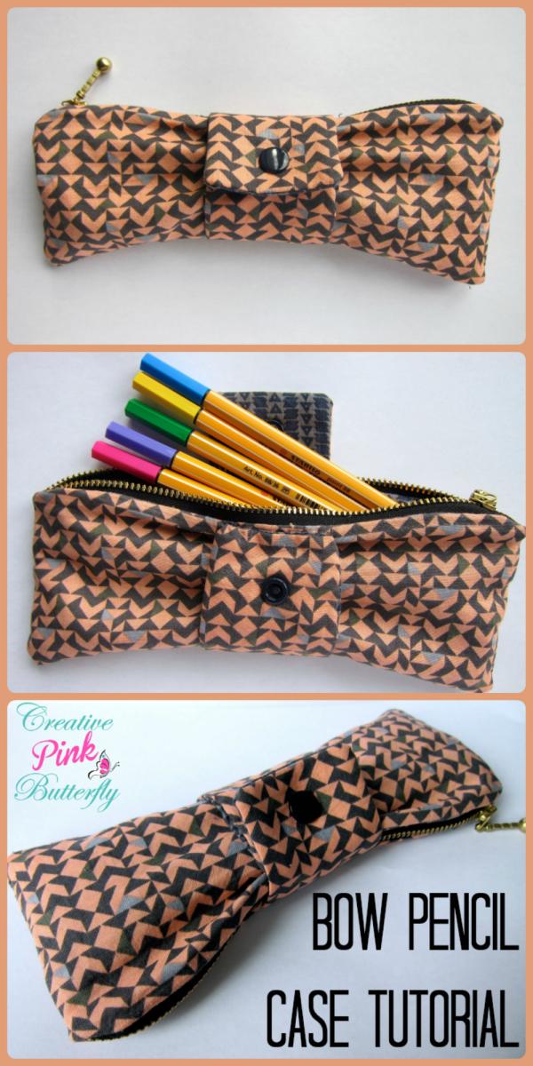 Bow Pencil Case Tutorial