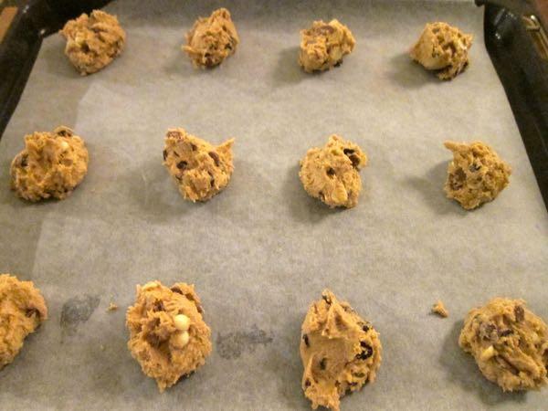 Triple Chocolate Chip Cookies - 15