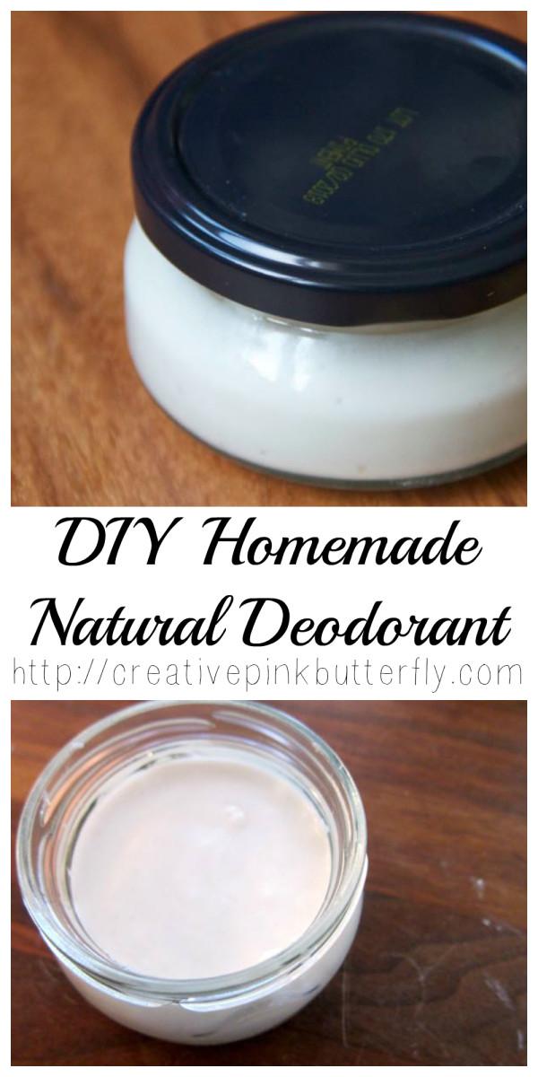 DIY Homemade Natural Deodorant