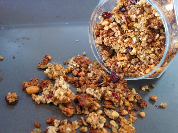 Gluten free and Paleo Granola Recipe