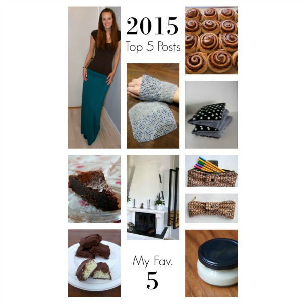 2015 Top 5 Posts & My Favorite 5