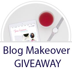 Blog Makeover Giveaway!