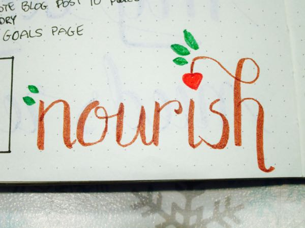 Nourish Lettering