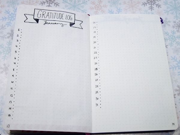 How to set up a Bullet Journal - 11 of 15