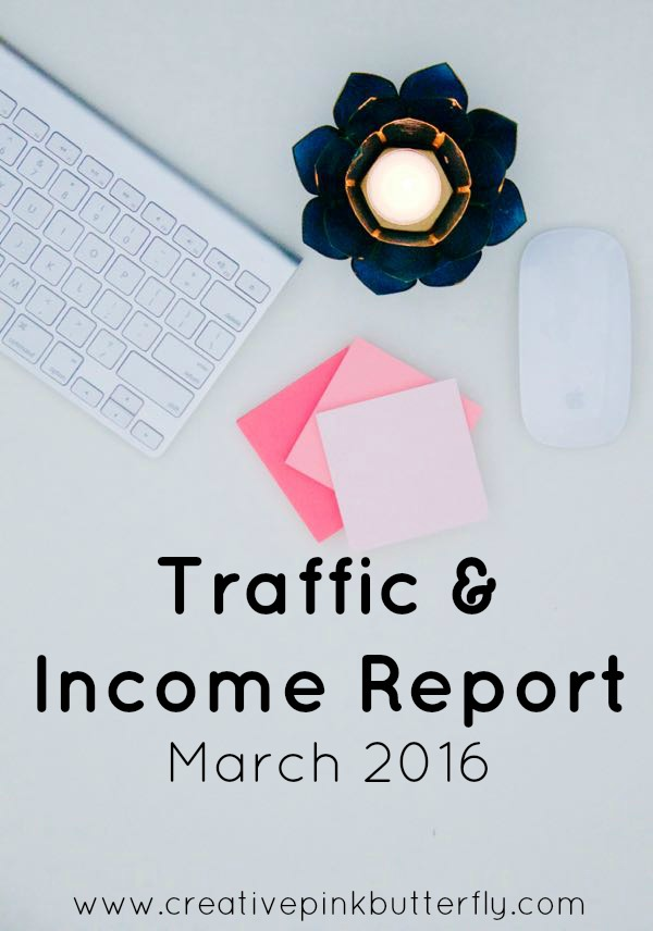traffic and income report march 2016