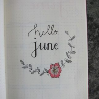 Bullet Journal – June
