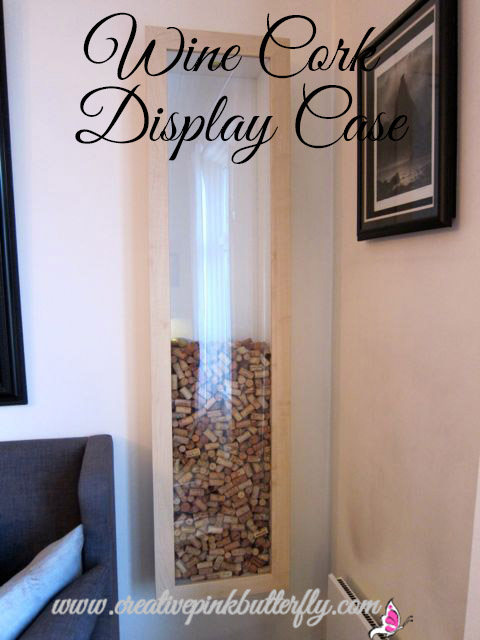 Wine Cork Display Case