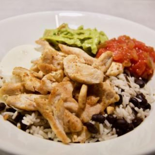 Chicken Taco Bowl