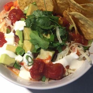 Vegetarian Mexican Skillet