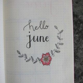 Bullet Journal – June